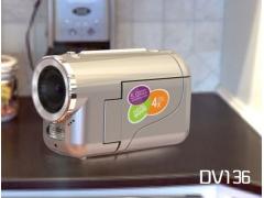 禮品型玩具DV數碼攝像機(DV136D)