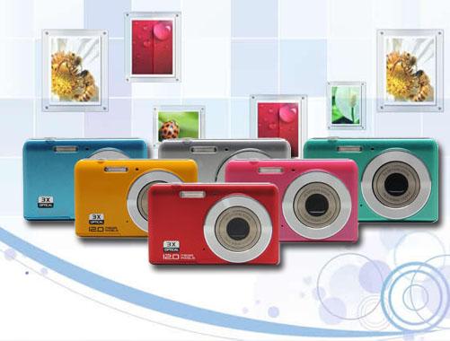 高清數碼攝像機,光學變焦,2.7寸屏(DC5500EZ)